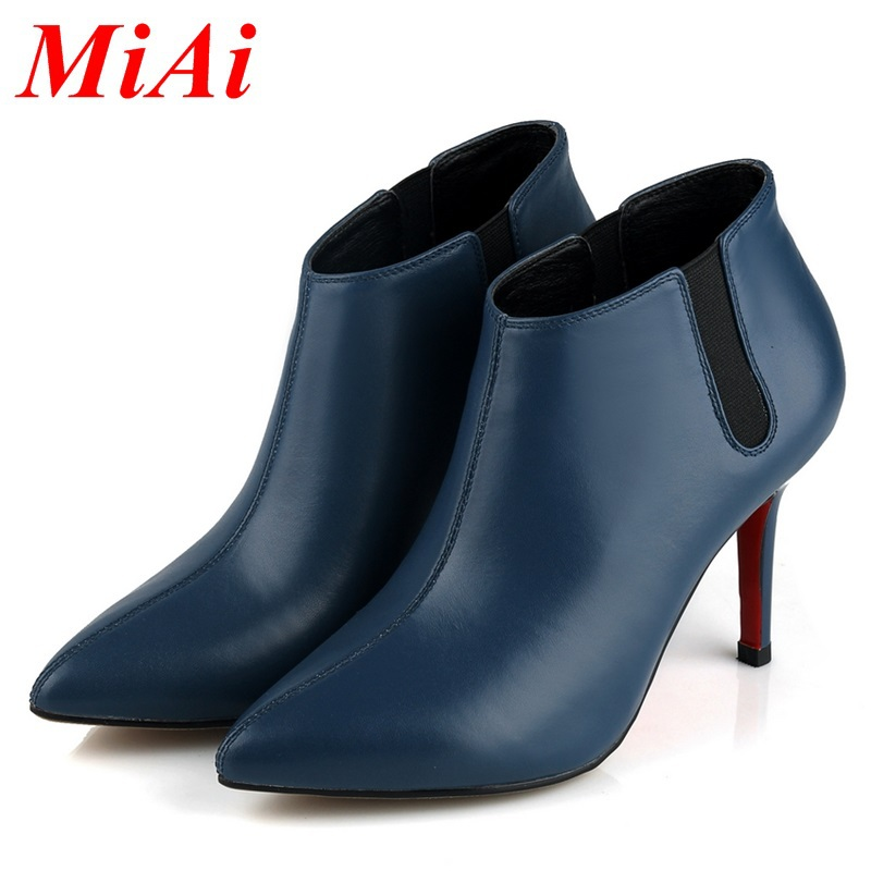 e649781acadf Get Quotations · 2015 new fashion classic black color fashion zipper women  shoes red blue women ankle boots Martin