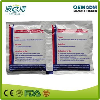 Medical Dispsable IPA Isopropanol Disinfectant Alcohol Wipe