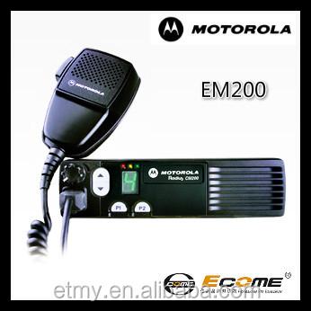 Radio Ham Motorola Em200 Fm High Quality Long Distance Car Radio ...