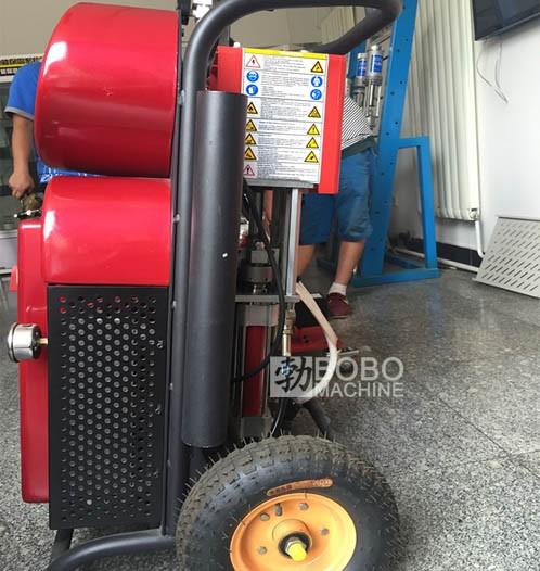 High Pressure PU Polyurethane Foam Spraying Machine For