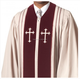 High Quality Bishop Clergy Robes In White/Red Colors