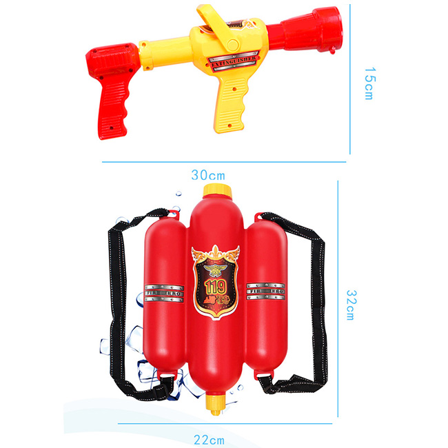 Sports Bras Punctual Children Fireman Sprayer Toy Backpack Beach Play Water Summer Beach Water Party Favors Toys Sports Clothing