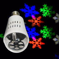 Supplying to Amazon Ebay Multi-Color Flashing LED Snowflake Projector light
