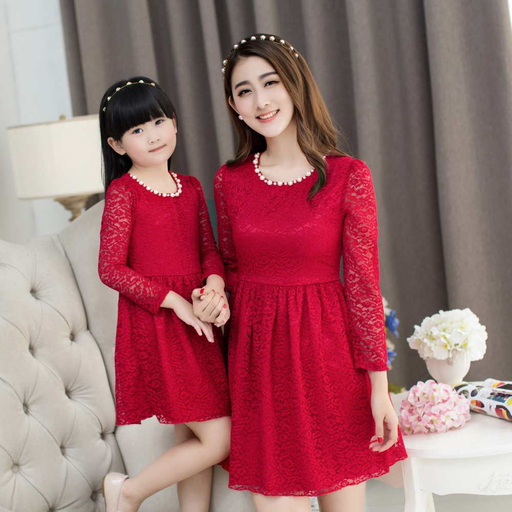 9ab1fa8ea68 Mother Daughter Matching Dresses Online Shopping