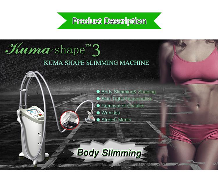 Best seller di perdita di peso/rapida riduzione del grasso lifting Kuma corpo che modella il corpo spa macchina