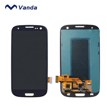 Vanda touch screen spare part for samsung galaxy s3 i9300 lcd display