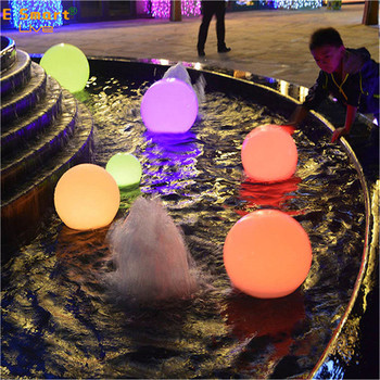 solar light balls luminous led stone lamp night glowing decorative rechargeable outdoor solar led stone ball light