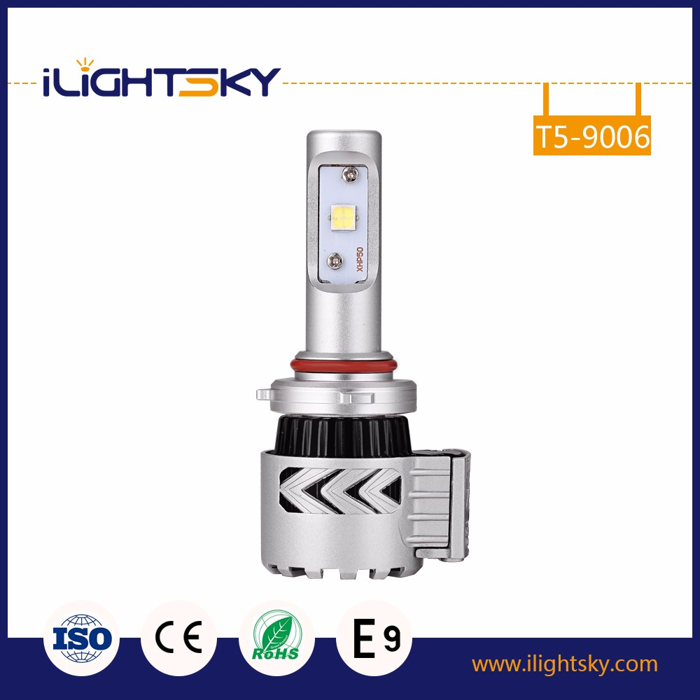 2017 Hot Selling Fanless Super Bright X3 LUXEON MZ/XHP50 Auto Car LED Headlight L/36W, H/36W H16 H13 H11 9005 9006