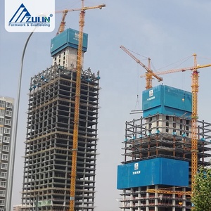 construction high rise building equipment formwork molds system patent for  concrete wall