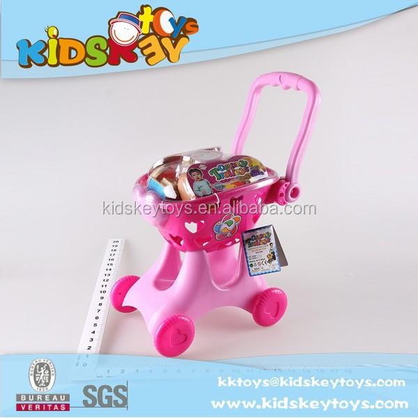 26191508a الصين مصنع جديد ألعاب للأطفال لعبة عربة التسوق سوبر ماركت للتسوق عربة  التسوق سيارة لعبة