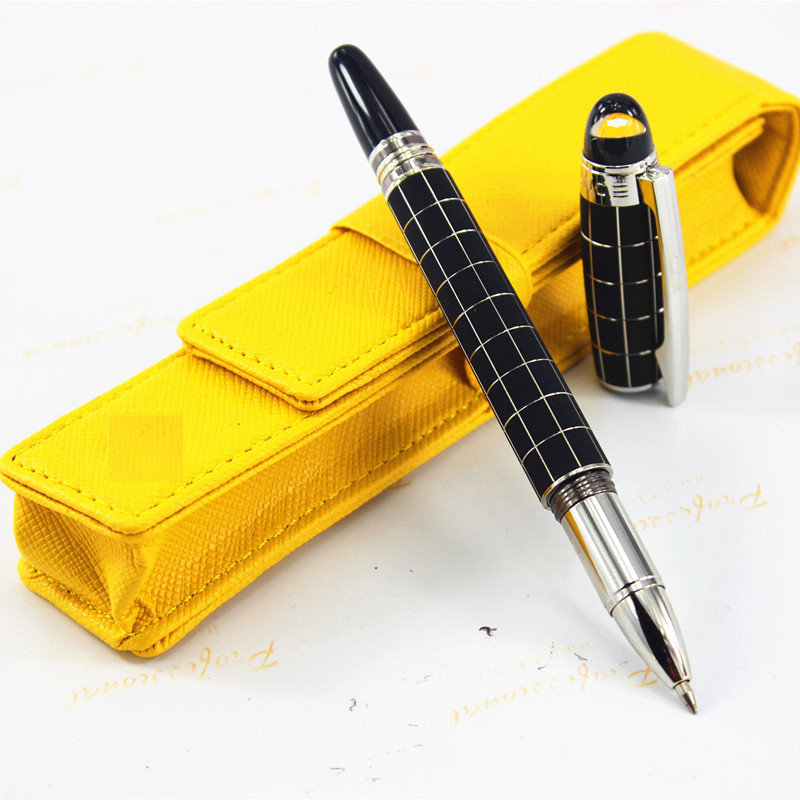 Newest Model New Design Metal Set pens,  StarWalker Promotional Hot Roller ball Pen For Writing Business Gift  +pen bag