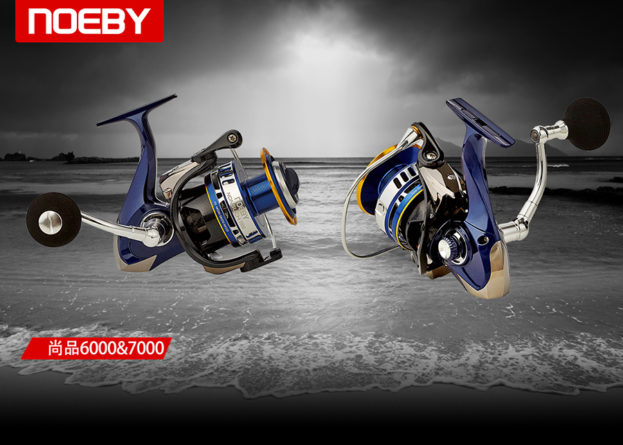 saltwater cast system spinning jigging waterproof fishing reel