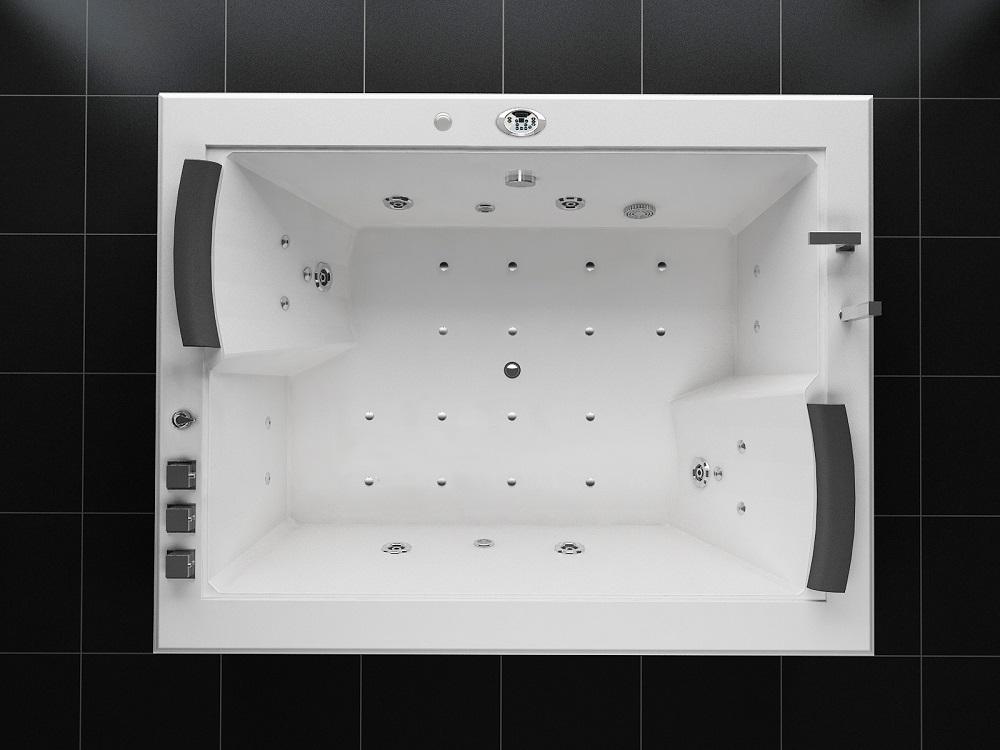 Vasca Da Bagno Extra Large : Migliore vendita doppio vasche idromassaggio vasca da bagno in