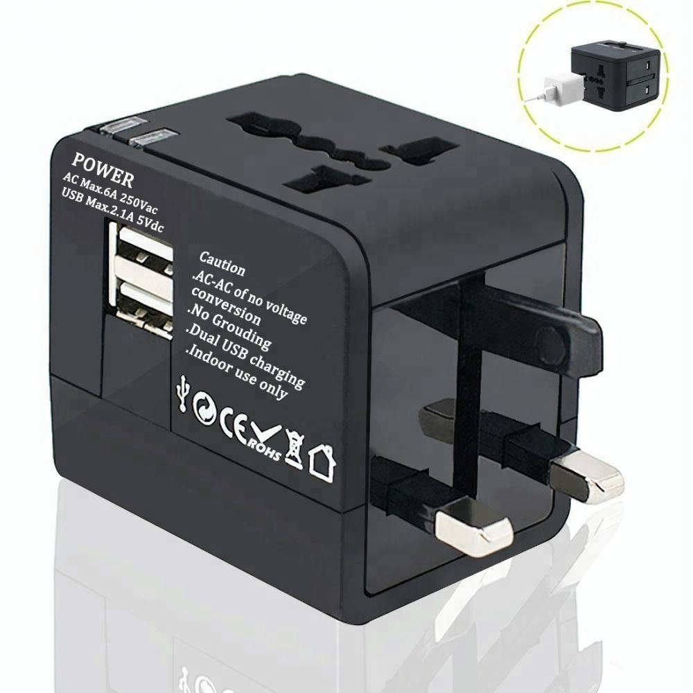 Universal Travel Adapter AC Power Plug US EU UK AU Extension Electrical Plug 100V-250V World Power Adapter