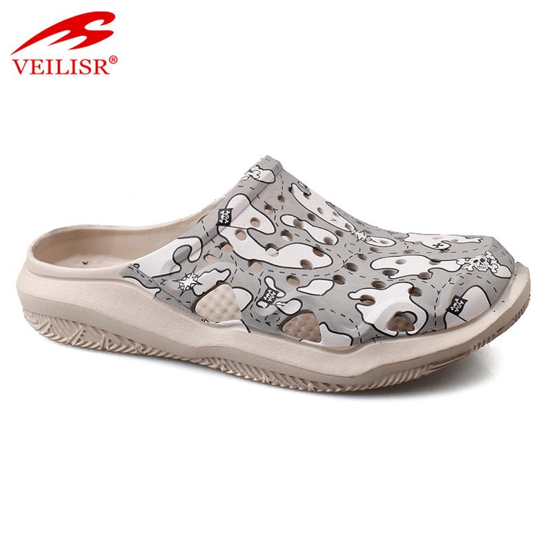 Most popular summer beach footwear EVA sandals men garden clogs