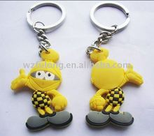 cartoon plastic key tags