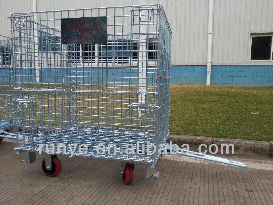 nestable foldable cage with combination lock manufacturer and supplier