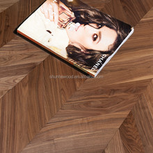 Factory prices American walnut parquet wood flooring