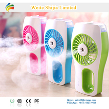 2017 Portable Usb Rechargeable Mini Humidifier Fan for Home Office Travel