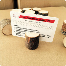 소박한 Style Place Card holder 웨딩 made 의 나무, Name Card Photo Holder