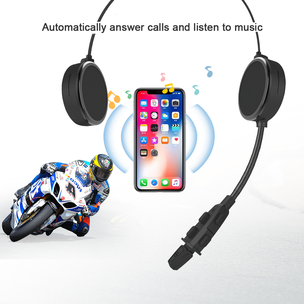 handfree 500m motorcycle helmet bluetooth intercom headset