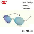 New 2016 Italy Design TR90 Small Round Sunglasses Women Light Weight Sun Glasses Female Oculos De