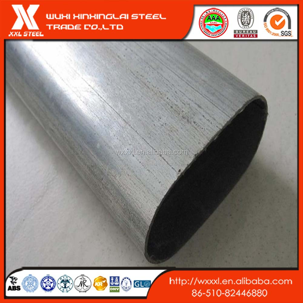 ASTM 304 SUS304 stainless steel ellipse pipes/ steel tubing in different shapes /special pipe china price