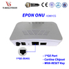 Brand New Mini White Plastic Housing FTTH 1 Gigabit Port 1GE EPON ONU Equipment with CORTINA Chipset RESET Function
