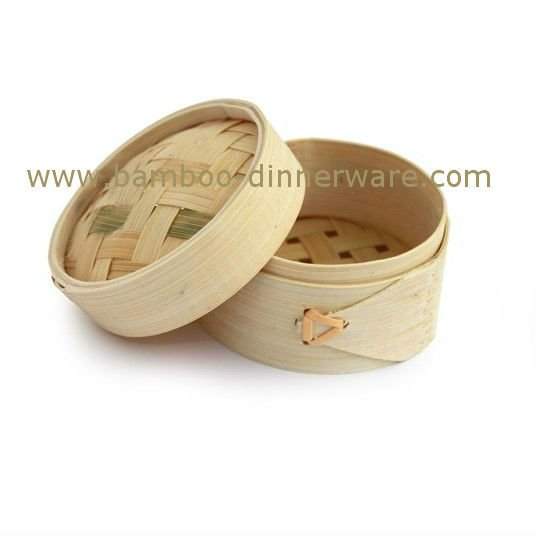Chinese Bamboo food steamer