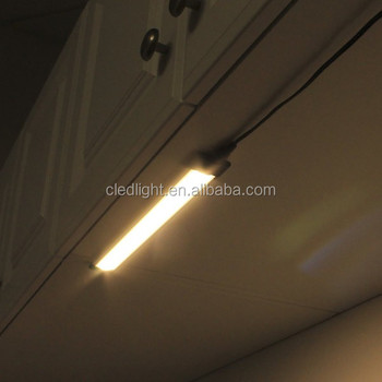 Modular Ultra Thin Led Under Cabinet Light With Diffuser And Switch 12 13 Inch Soft White