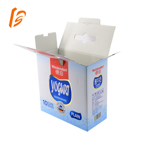 WE Flute Paper Standard Milk Carton Sizes Corrugated Packaging Box
