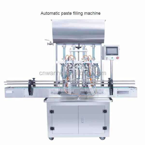 Automatic tomato paste filling and sealing packing machine paste filling machine