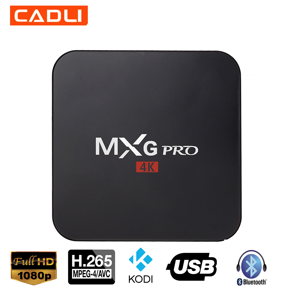 MXG PRO Android 4K 2G RAM 16G ROM Smart TV Box Manufacture