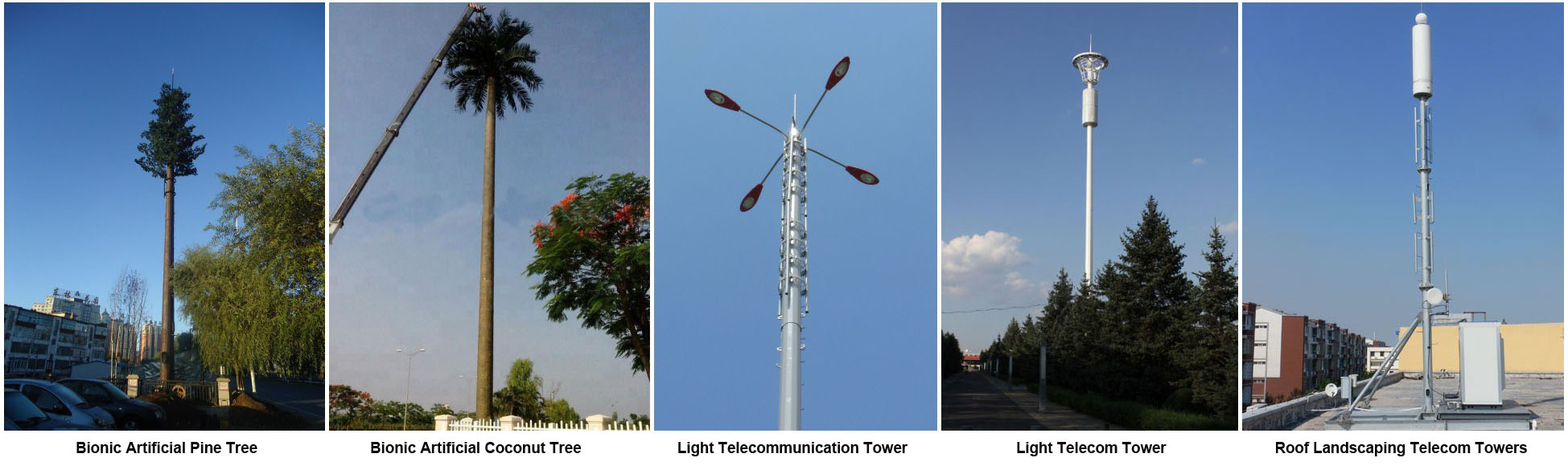 2019 Beautiful self supporting galvanized squares and garden lighting poles telecom tower
