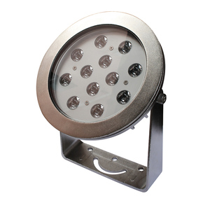 12Volt IP68 Waterproof Dmx512 LED Lamp swimming pool