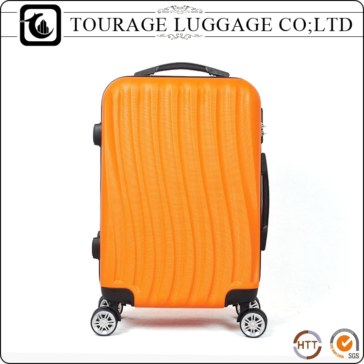Abs Pc Trolley Travel Suit Case Set , Cheap Hard Suitcase On Wheel