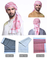 2018 new design long warm hot sale arab men scarf for wholesale
