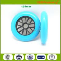polyurethane rollerblade inline skate wheel 125MM