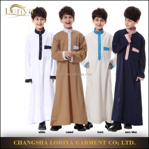 Children abaya muslim dress for kids islamic clothing long dress children abaya