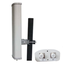 2.4G directional dual polarization sector antenna 14DB 120 degrees wifi base station antenna
