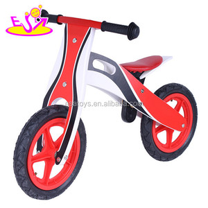 OEM and ODM Certified Balance Toys Wooden Bike Kids Balance Bicycle W16C131