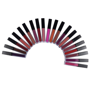 Private Label 30 Colors Matte Lipgloss OEM Cosmetics Liquid Lipstick For Makeup