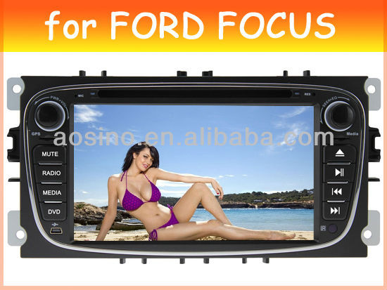 car dvd player for FORD MONDEO FOCUS 2008-2011 S-MAX car radio car audio with gps navigation black color
