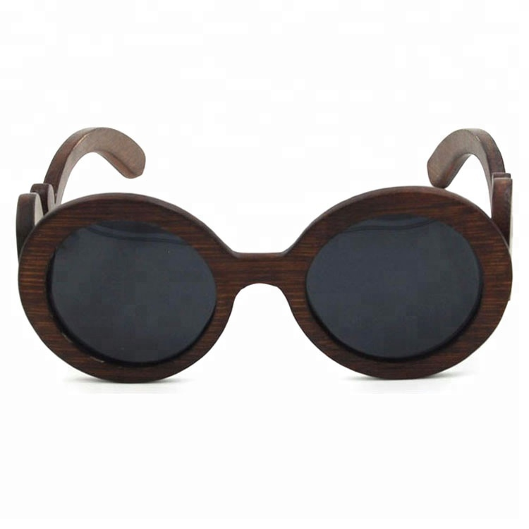 new Italian vintage style design high quality polarized wooden sunglasses crafts design sunglasses
