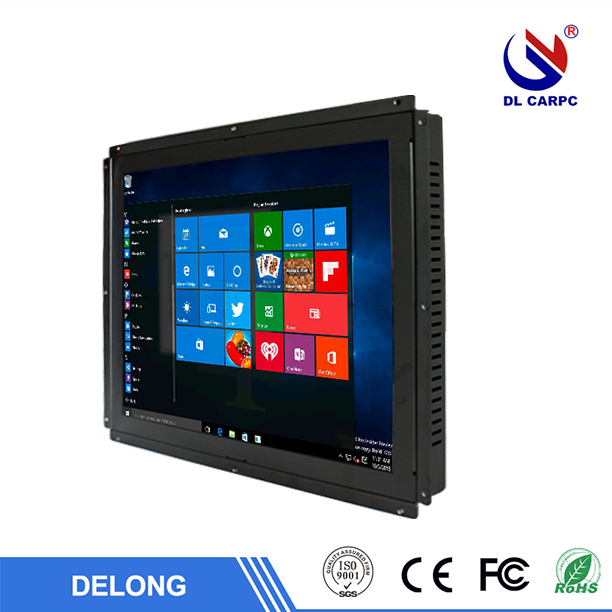 15 inch tft lcd touchscreen computers monitor with black shell