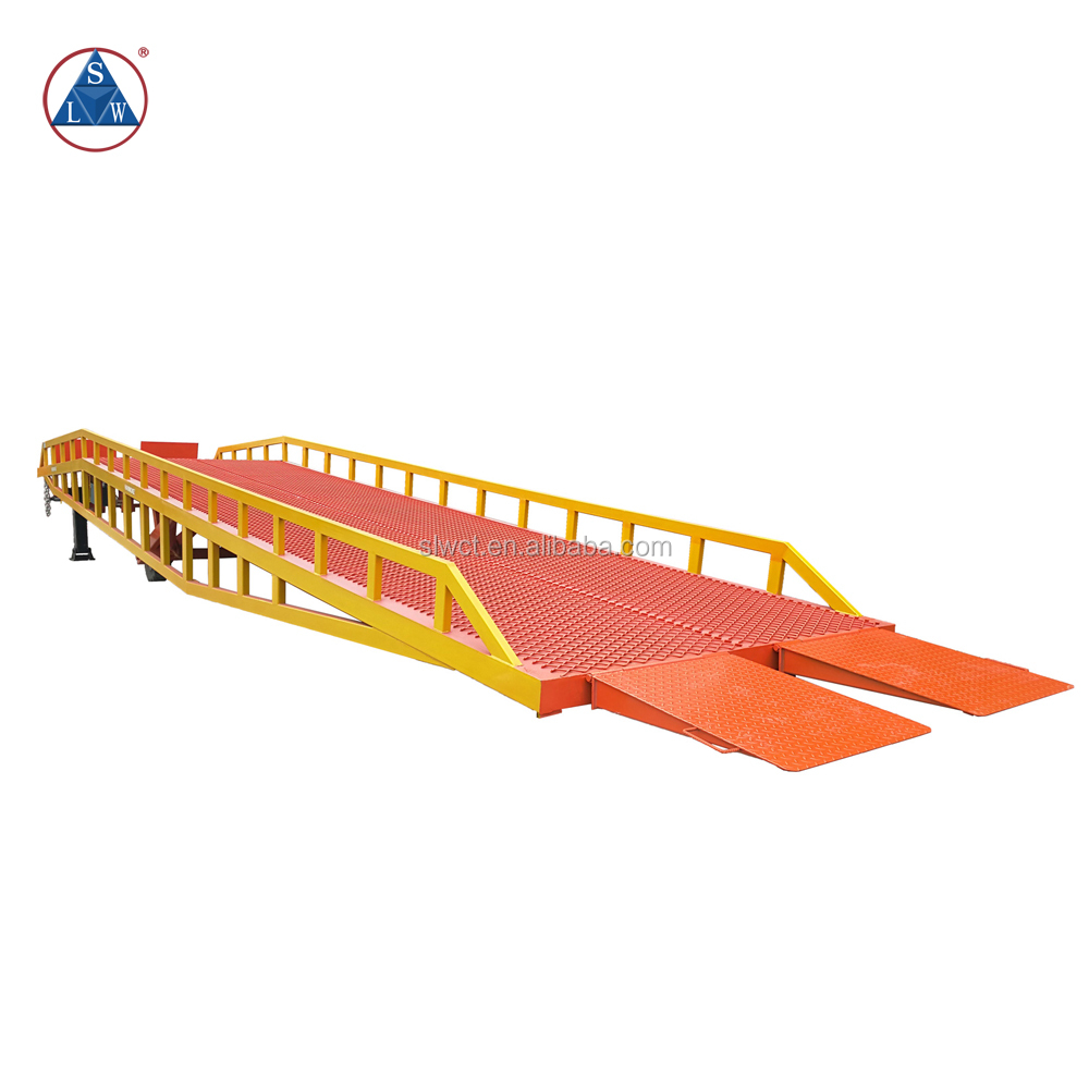 2017 mobile container loading ramps truck unloading platform container load ramp