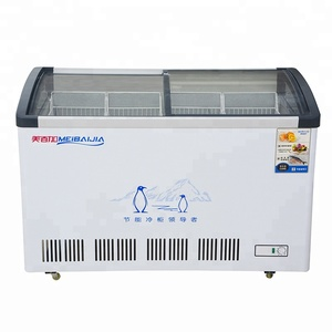 Factory Wholesale Price Commercial Refrigeration For Ice Cream Freezer Display
