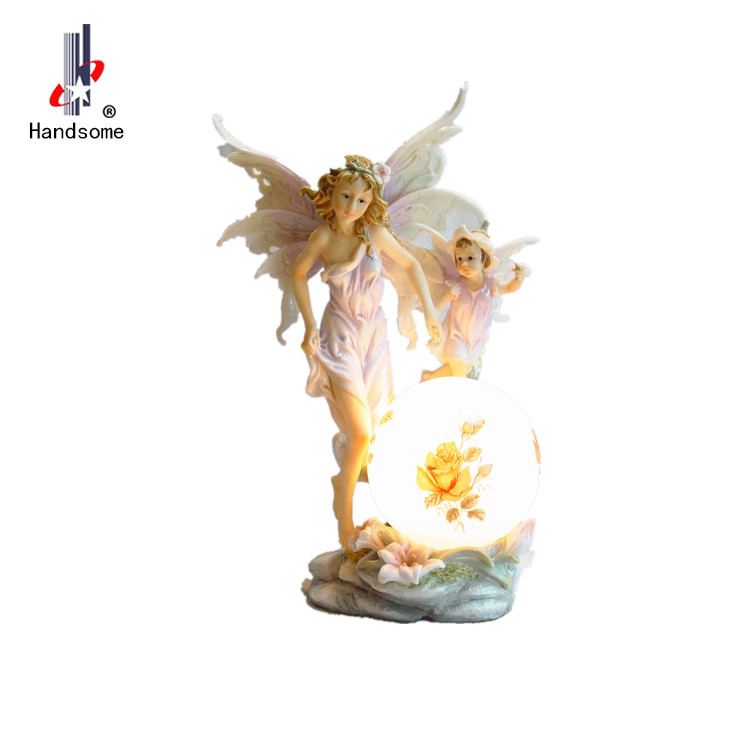 Hot sale Wholesale Girl Gnome Resin Fairy Figurines