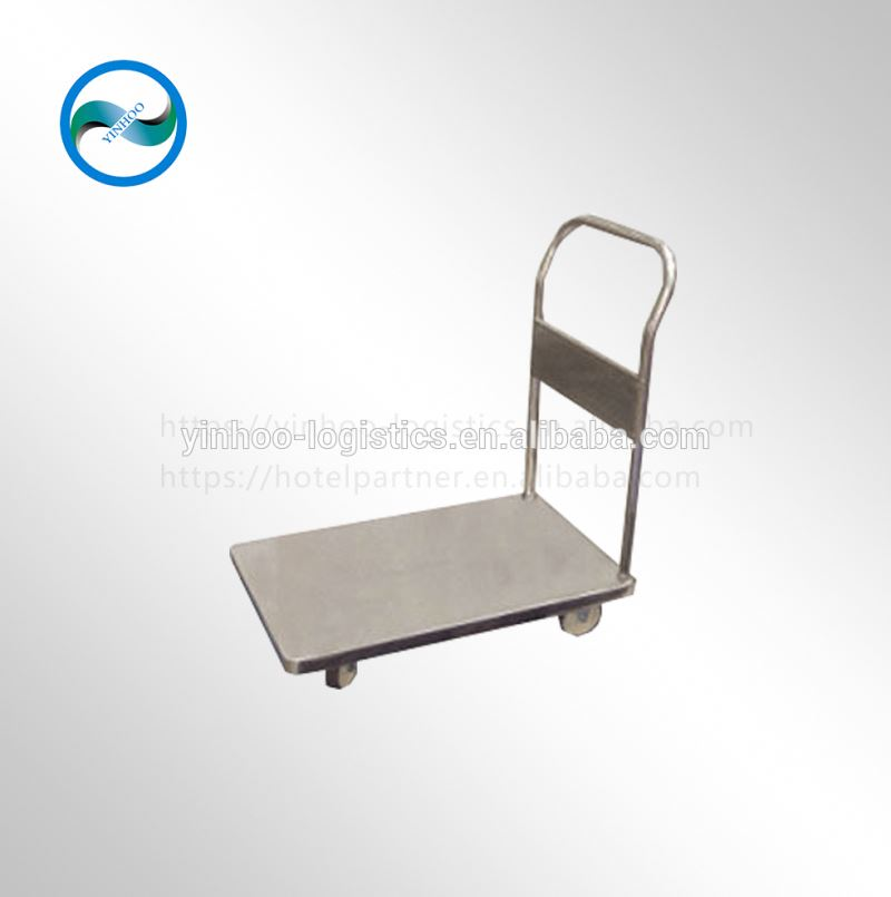 goods carrying pallet wheeled plastic trolley/dolly