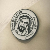 China manufacturer hot-selling Years of Zayed logo badges, Logo for Year of Zayed Lapel pin